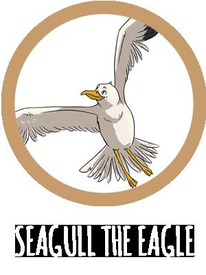 Seagull The Eagle Logo